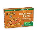Annie's Homegrown Organic Bunny Fruit Snacks, Sunny Citrus, 25 Pouches, 0.8oz