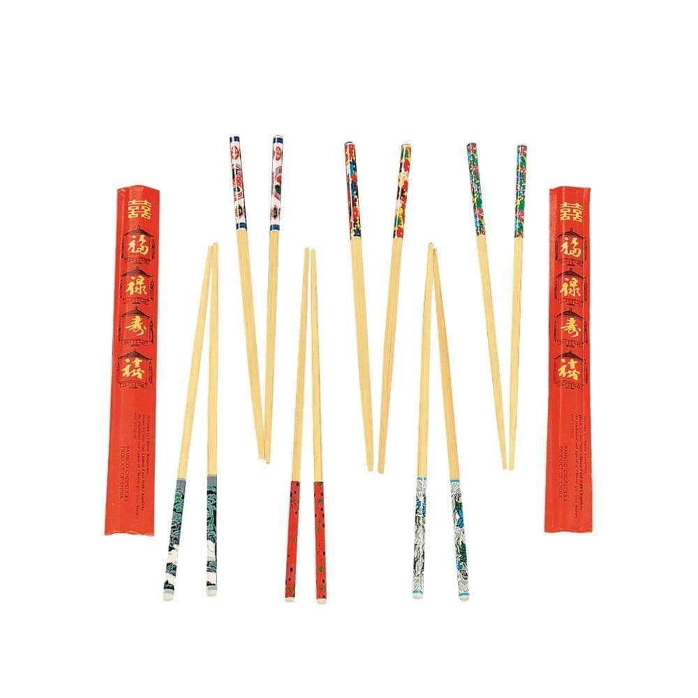 Fun Express Wooden Decorated Chopsticks (24 Pack), 9