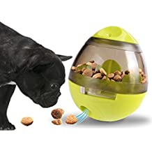 Proud Pet Treat Dispensing Toy Ball - Interactive Dog Cat Toy Stimulates Brain Activity IQ, Slows Down Eating, Alternative to Slow Feeder Bowl, Perfect Gift for Any Dog & Cat Lovers