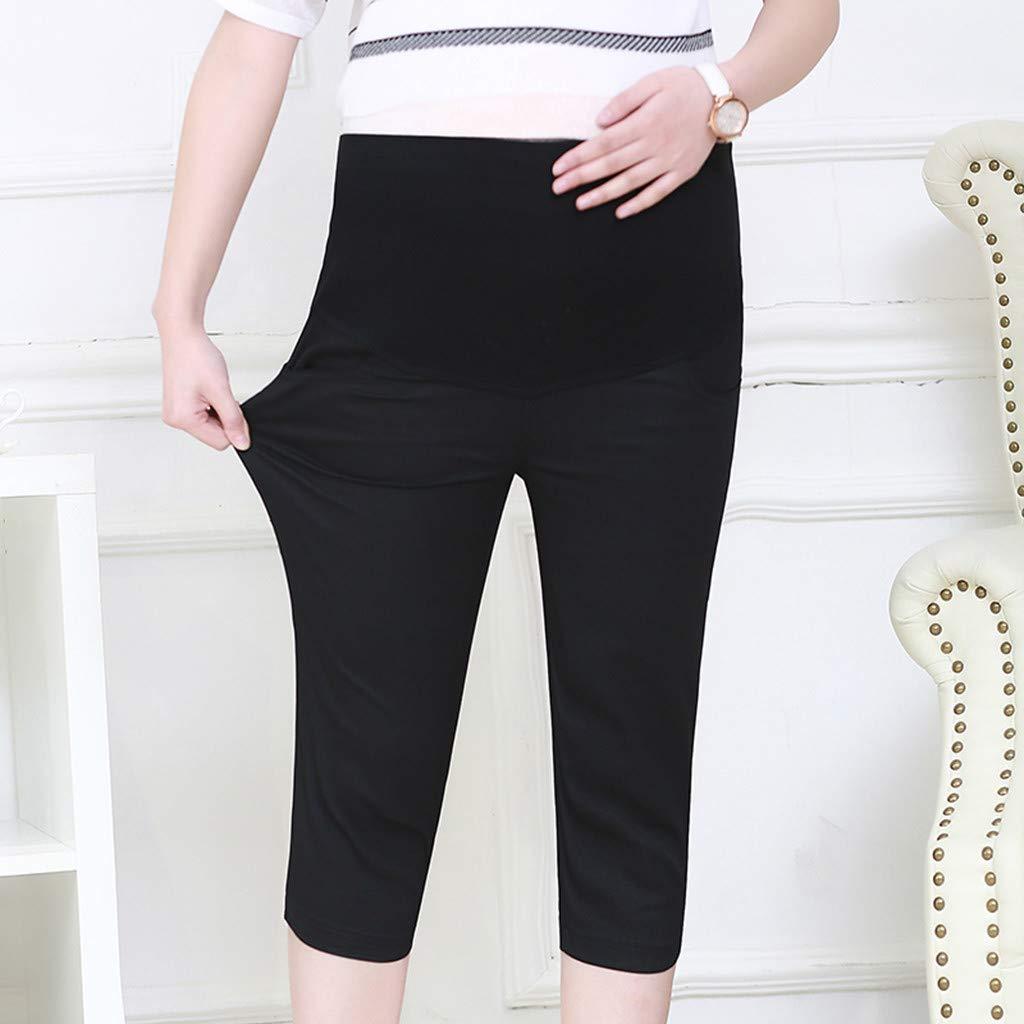 Solike Femme Enceinte Jeans D/échir/és Jeans de Maternit/é Femmes Mode de Grossesse /Élasticit/é Ventre Prop Leggings Loose Pantalon ❤️ Pantalon de Maternit/é