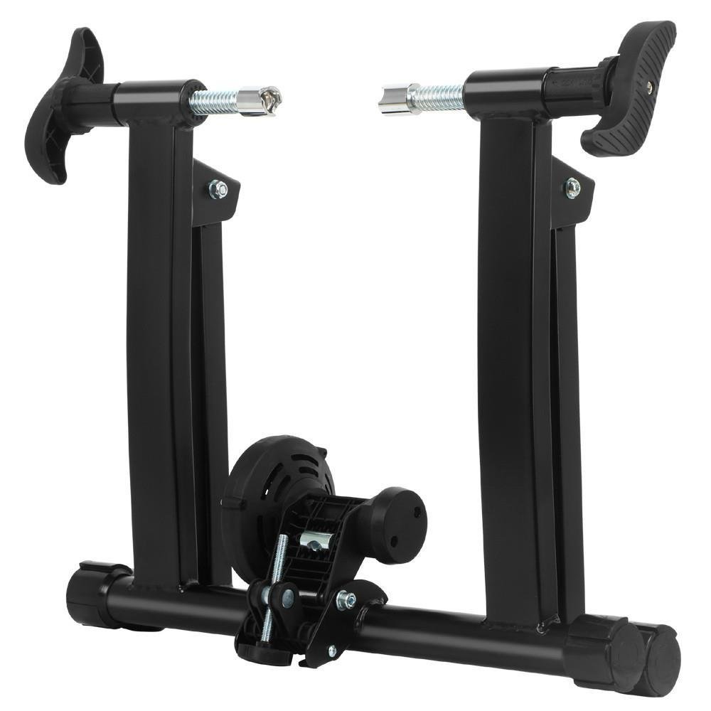 Yaheetech Bike/Bicycle Trainer Stand Indoor Portable Magnetic Resistance Stationary Exercise Stand for 700C Wheels by Yaheetech