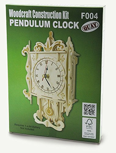 Pendulum Clock Woodcraft Construction - Clock Kits Wood