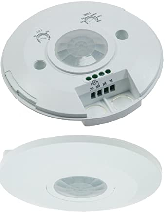 Infrarrojos de techo-sensor de movimiento 360° 1-2000W 6 M LED para