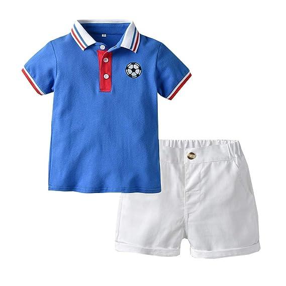 Baiomawzh Ropa Bebe Niño Verano Camisa Camiseta Mangas ...