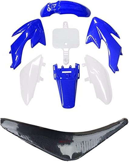 ZXTDR Bolt Plastics Body Kit Screw Set for CRF50 XR50 Fairing Panel Fenders Gas Tank