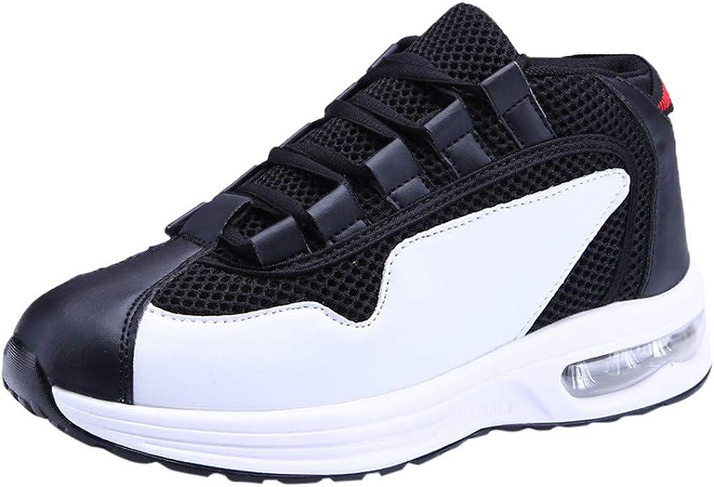 Zapatillas Deportivas de Mujer Air Cordones ZARLLE Zapatillas Running Hombre Mujer Zapatos Deporte para Correr Trail Fitness Sneakers Ligero Transpirable