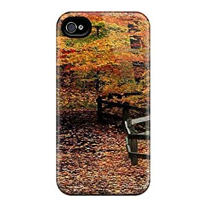 6 Scratch-proof Protection Cases Covers For Iphone/ Hot Autumn Path Through Woods Phone Cases