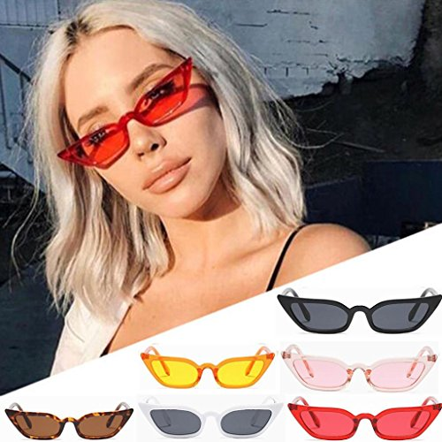 Cat Occhiali Small Uv Uv400 Outside Women Fashion da Protection Retro Eye Eyewear Vintage Black sole Adeshop Frame qx8gEH68