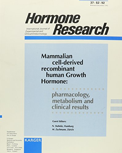 Mammalian cell-derived recombinant human Growth Hormone: pharmacology,...