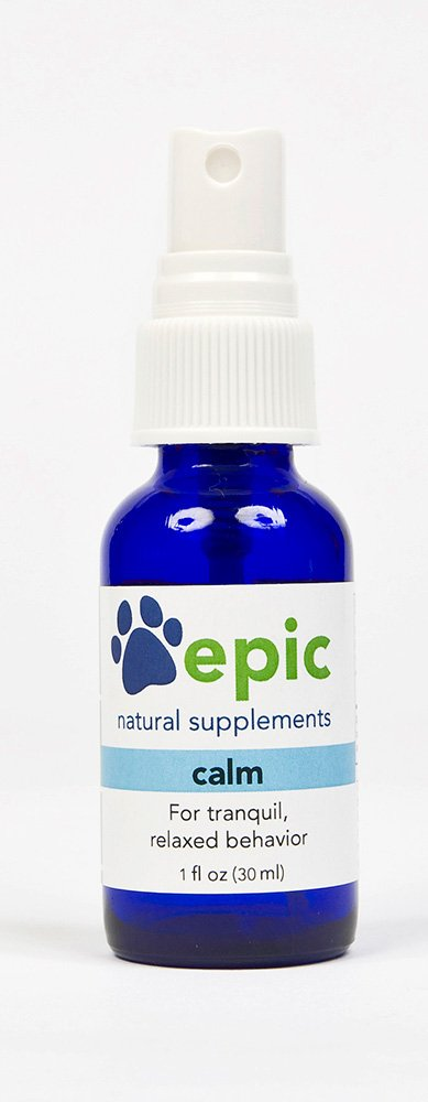 Epic Pet Health Calm - Natural Calming Sprays Made for Dogs and Cats That Promotes Calm and Relaxed Behavior, Made in USA (Spray, 1 Ounce)
