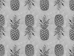 Grey Pineapple Pattern Doormats Doormat