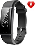 Lintelek Fitness Tracker, Customized Activity Tracker with Heart Rate Monitor, 14