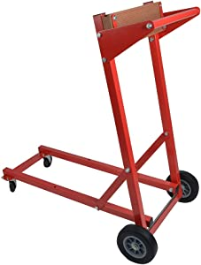 CE Smith Outboard Motor Dolly, Red, One Size