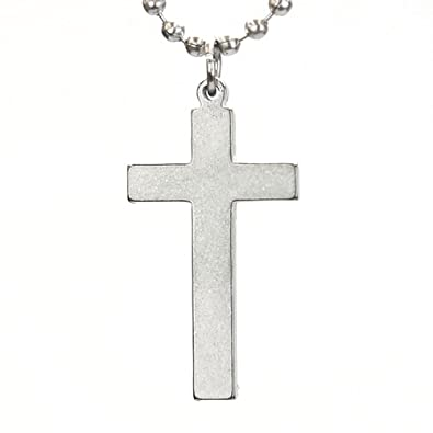Amazon long cross necklace pendant necklaces jewelry long cross necklace aloadofball Images