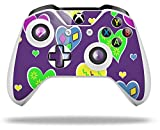 Crazy Hearts - Decal Style Skin fits Microsoft XBOX One S and One X Wireless Controller