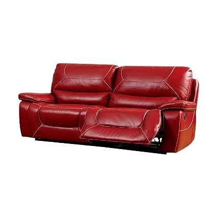 Amazon.com: Benjara Benzara Leatherette Upholstered ...