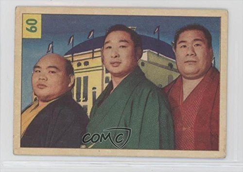 sumo-wrestlers-comc-reviewed-good-to-vg-ex-trading-card-1955-56-parkhurst-wrestling-base-60
