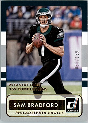 2015 Donruss Stat Line Season #14 Sam Bradford /159 - NM-MT
