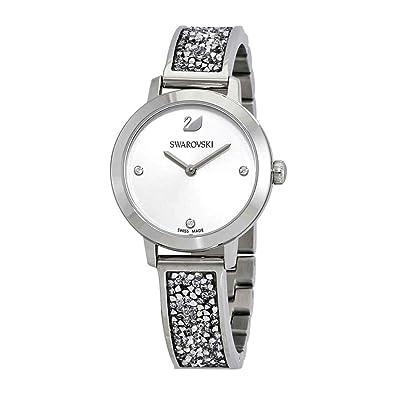 669d5200f Amazon.com: Swarovski Cosmic Rock watch 5376080 Woman Gray ...
