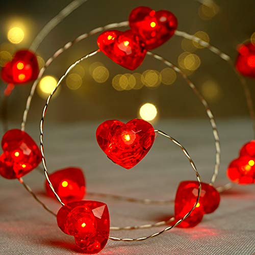 Heart Shaped Outdoor Lights in US - 2