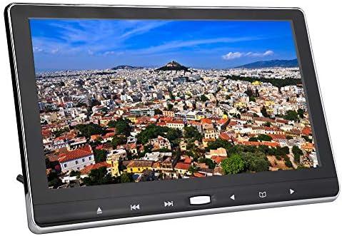 DVDディスプレイゲーミングモニター 11.6インチデジタル1920 x 1080 TFT LCDモニター画面 外部ヘッドレスト 2チャンネルAV入力 ビルトインIR/FM/スピーカー HDMI入力