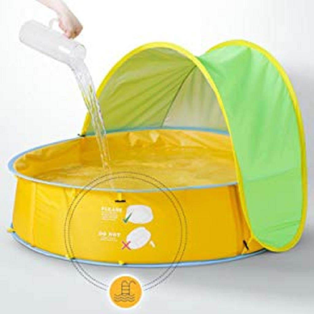 Portable Kids Ball Pit Play Tent Indoor Outdoor White MChoice❤️Baby Beach Tent UV Protection Sun Shelters 3 in 1 Pop Up Baby Pool for Baby