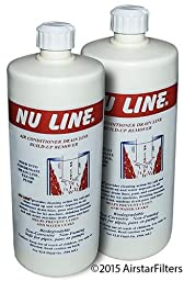 (2)-Pack , Nu-Line® Drain Cleaner , 32 ounce bottle