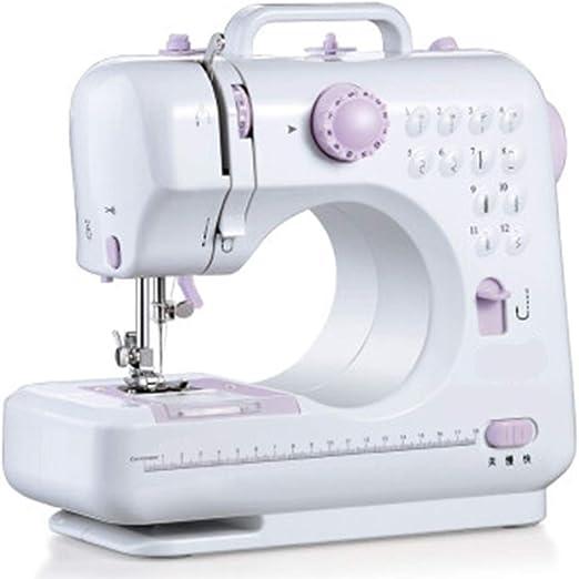 Máquina de coser Máquina de coser portátil multifunción Mini ...