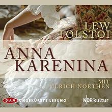 Anna Karenina Hörbuch von Lew Tolstoi Gesprochen von: Ulrich Noethen