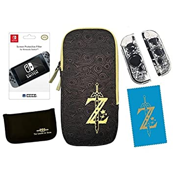 Sacoche et accessoires ZELDA pour Nintendo Switch HORI