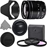 FUJIFILM XF 18-55mm f/2.8-4 R LM OIS Wide Angle Lens (16276479) + AOM Pro Kit Combo Bundle - Fuji 18-55mm X-Mount Zoom Kit Lens - International Version