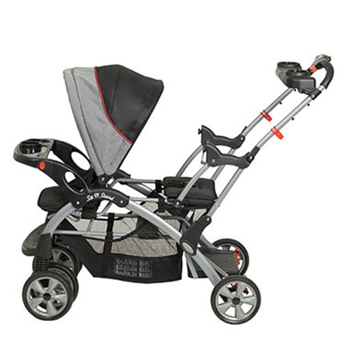 BABY TREND Sit N Stand Double Travel System (2 Car Seats Included) - Millennium by Baby Trend (Image #2)