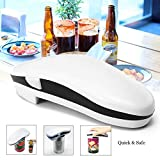 Electric Can Opener Mini Convenient One Touch Automatic Electric Can Tin Bottle Opener