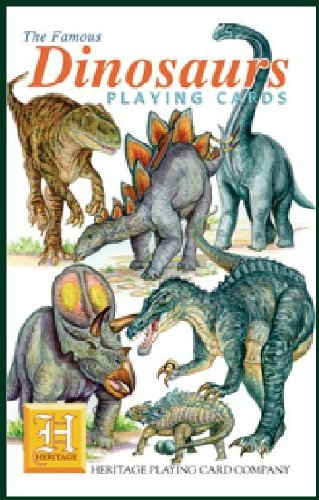 Dinosaurs Playing Cards by Heritage Playing Card