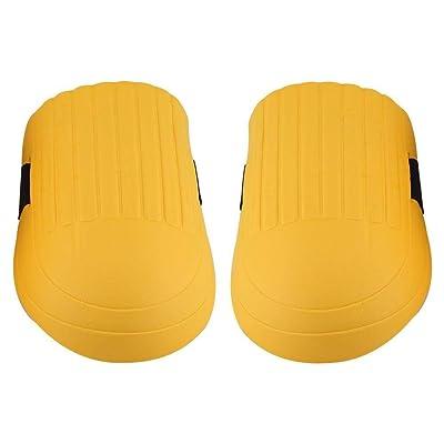 Maxmartt 1 Pair of Gardening Knee Pad EVA Knee Pads Kneelet Protective Gear for Men Women Construction Flooring (Yellow): Home & Kitchen