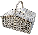 Provence Medium Farmhouse Empty Picnic Basket