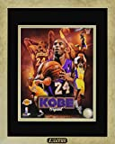 pictures of kobe bryant - Kobe Bryant Los Angeles Lakers. Professionally Framed Photo with Plate. Custom Made Modern Gold Real Wood Frame (12 x 15)