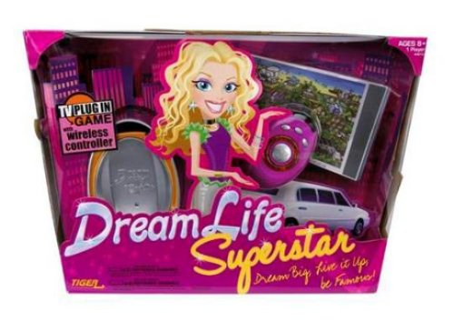 amazon com dreamlife superstar tv plug in game toys games