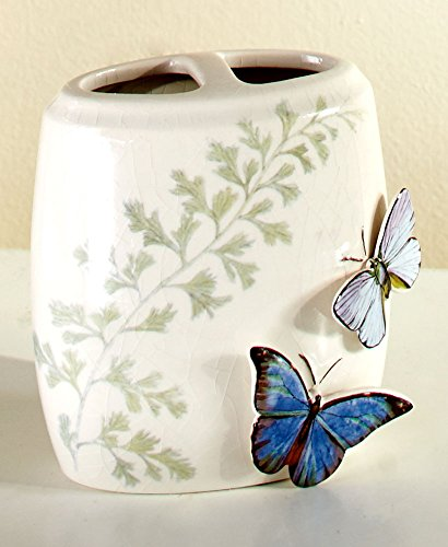 (The Lakeside Collection Butterfly Toothbrush Holder)
