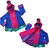 Twirly Girl Cool Jacket for Girls 13 Pockets Fleece Lined Purple Pink USA Made