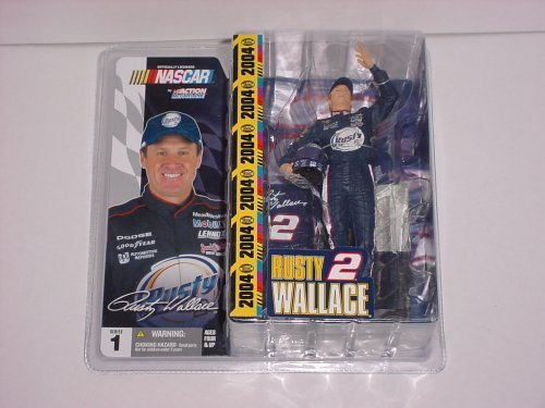 McFarlane Toys NASCAR Series 1 Action Figure Rusty Wallace by McFarlane Toys