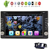 In Dash 6.2 Inch Eincar Android 4.2 Car DVD Video Player Steering Wheel Control Bluetooth Capacitive Touchscreen Car Stereo Audio Wifi USB/SD/CD AM/FM Radio+Backup Camera