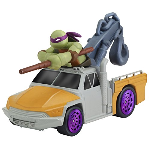 Teenage Mutant Ninja Turtles T-Machines Donatello in Service Truck Diecast Vehicle]()