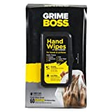 Grime Boss M956S8X 60 Count Heavy Duty Hand Cleaning Wipes
