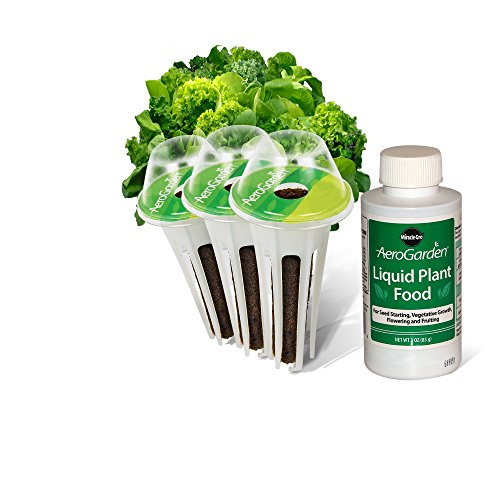 AeroGarden Heirloom Salad Greens Seed Pod Kit (3-Pod)