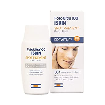 ISDIN Foto Ultra 100 Spot Prevent Fotoprotector Facial Fluido (SPF ...