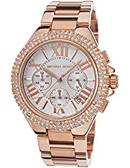 Michael Kors MK5636W Womens Chronograph Camille Rose Gold-Tone Stainless Steel Bracelet Watch …