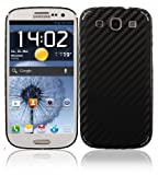 Skinomi TechSkin - Samsung Galaxy S3 Screen Protector + Carbon Fiber Full Body Skin / Front & Back Premium HD Clear Film / Ultra Invisible and Anti Bubble Shield