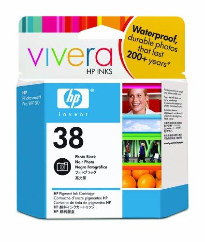 Hp Vivera Pigment Ink (HP 38 Photo Black Pigment Original Ink Cartridge (C9413A) DISCONTINUED BY)