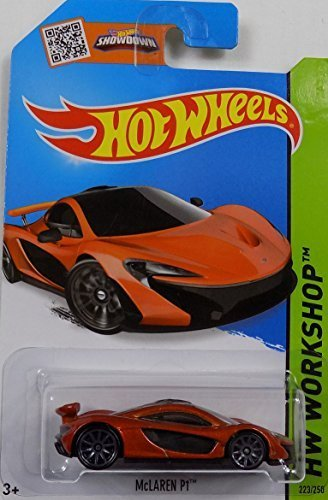 ([Bundle 5 Items] HotWheels Exotics Dream Team Set - McLaren P1, Lamborghini LP 610-4, Lamborghini Veneno, Ferrari 599 GTB Fiorano, Ferrari 599XX)